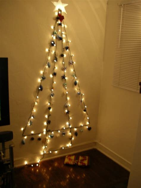 how to make a chrismas wall tree 15 amazing wall