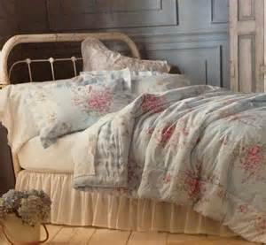 Light Green Comforter Set Shabby Chic Full Queen Comforter Set Pink Roses Bedding
