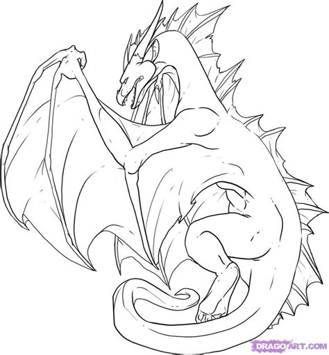 simple dragon coloring page simple dragon pictures az coloring pages