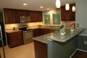 U Shaped Kitchen Remodel Ideas U Shaped Kitchen Remodel Contemporary Kitchen Dc