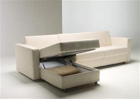 divani contenitori divano letto con penisola contenitore berto salotti