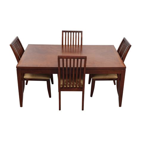 metropolitan dining room set off macys metropolitan dining set with four chairs and