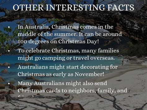 christmas traditions in australia facts in australia by g