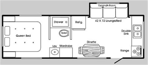 Hi Lo Trailer Floor Plans by Used Travel Trailer Hi Lo Rvs And Motorhomes For Sale