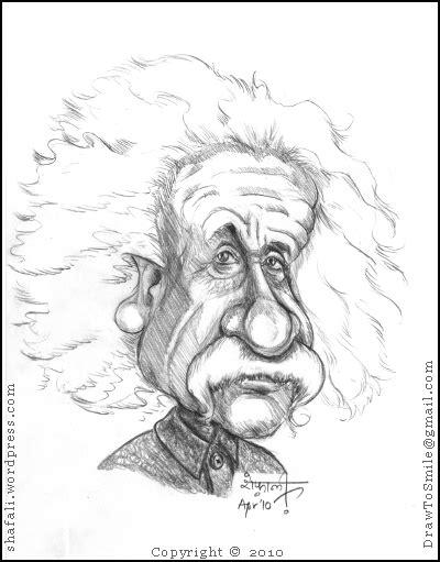 biographical sketch of albert einstein cartoon caricature albert einstein the greatest