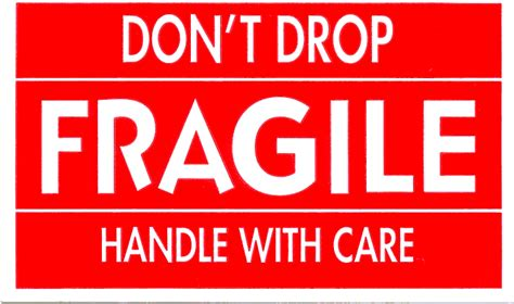 Stiker Shipping fragile definition what is
