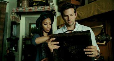 Premium Dvd Starring Zoe Saldana Hill In Stores Now by New The Words Clip Sees Bradley Cooper And Zoe Saldana S