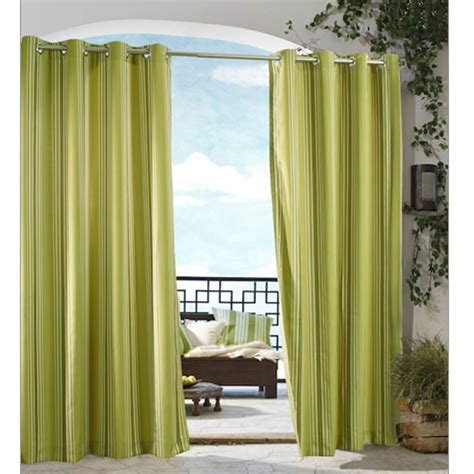 outdoor sheer curtains green outdoor sheer curtains