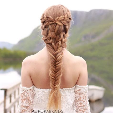 how to do khaleesi braids quot mermaid meets khaleesi quot braid on elise inspired by