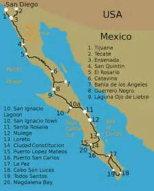 baja california peninsula map baja peninsula mexico map