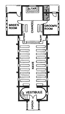 Small Chapel Floor Plans | little chapel at twu old world new