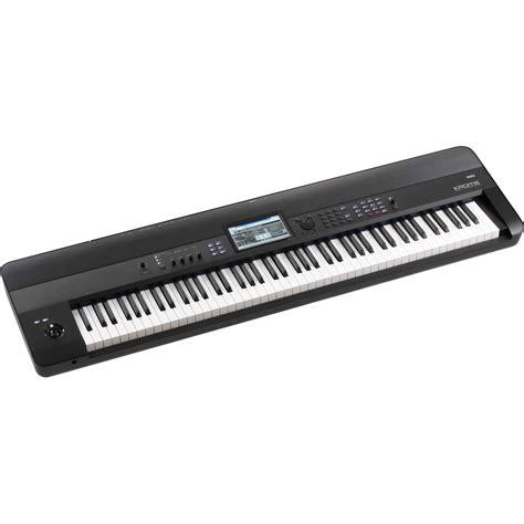 Keyboard Korg Krome korg krome 88 key workstation with free stand bag headphones at gear4music