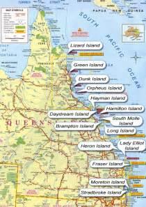 Port Douglas Hire Car Queensland Islands Map