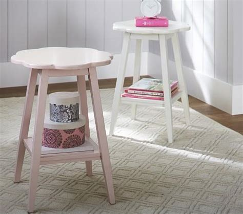 nursery accent table flower accent table pottery barn kids