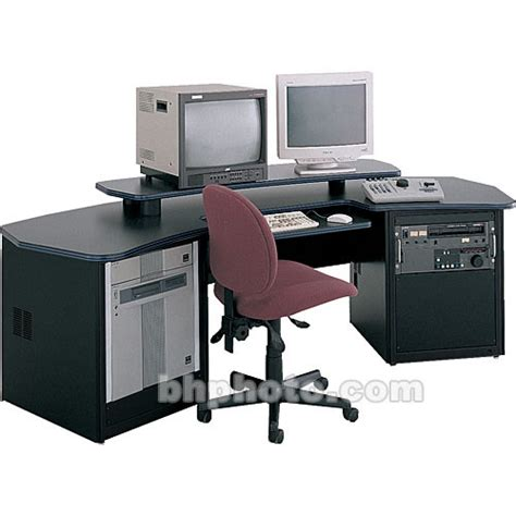Winsted Desk by Winsted Dual Desk With Adjustable Shelf E4402 B H Photo