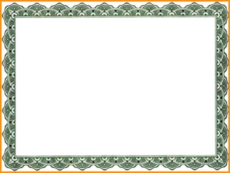 borders for certificates templates formal certificate borders templates certificate border