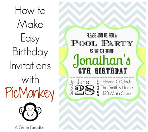templates for making invitations how to make birthday invitations in easy way birthday