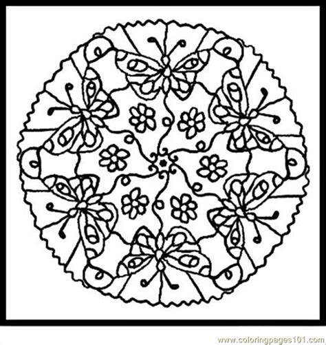 animal mandala coloring pages to print coloring pages animal mandalas 3 insects gt butterfly