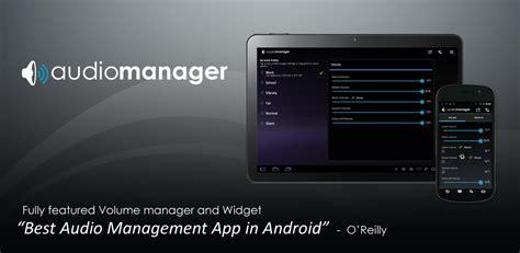 audio manager apk el mejor top de descargas free