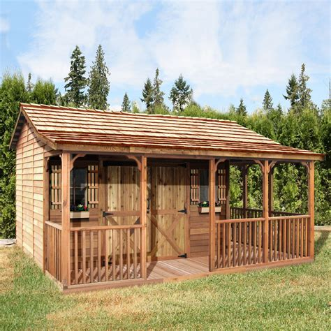 cedar shed fh  ft   ft farmhouse shed farmhouse