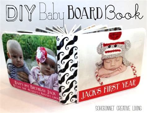baby family picture book diy baby picture board book sohosonnet creative living
