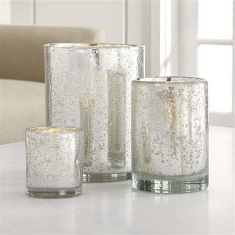Candle Holder Store Silver Hurricane Candle Holders Crate And Barrel