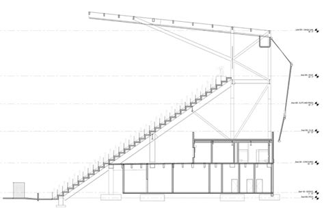 Section S by Exclusive Look At Plans For Supporters Section In