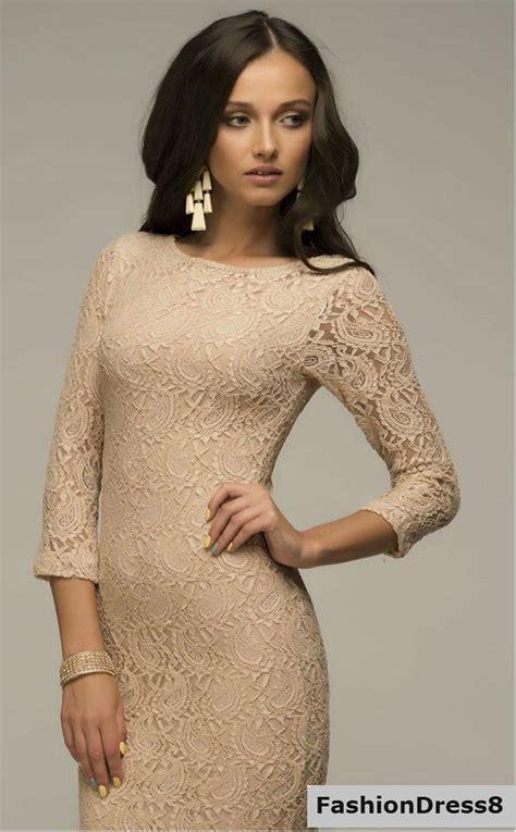 beige color dress beige dress evening lace dress fitted dress formal