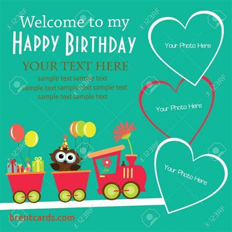 birthday card invitation sle birthday invitation card designs for free card