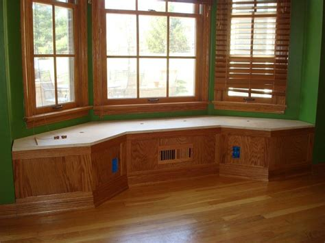 bench for bay window bay window bench by captferd lumberjocks com