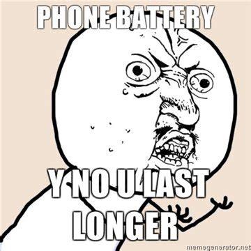 Phone Died Meme - phone battery