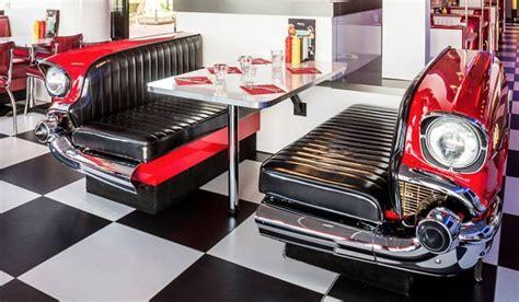 Retro Kitchen Decor Ideas route 66 store klassik auto diner bank chevrolet bel