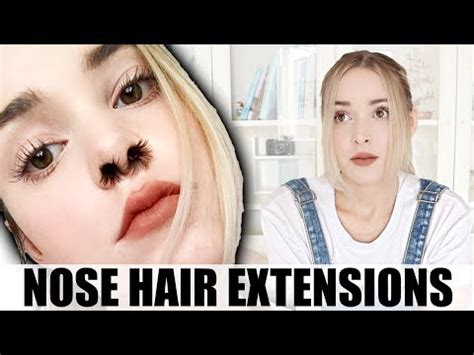 Hair Extension Meme - nose hair extensions know your meme