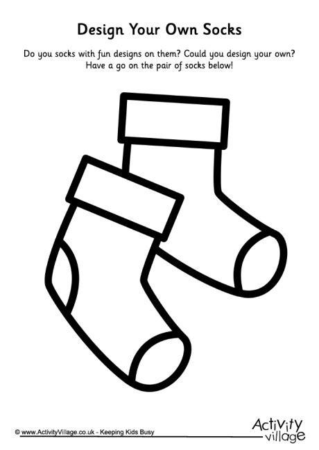 design your own socks