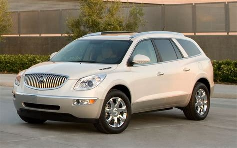 2011 buick enclave photo gallery truck trend buick enclave chevrolet traverse the latest to get nhtsa 5 stars photo image gallery