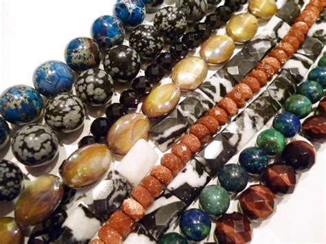 beading gem gemstones big skies jewellery