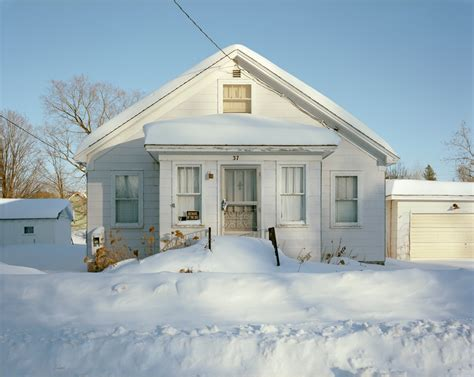 house snow on wisconsin by brautigam