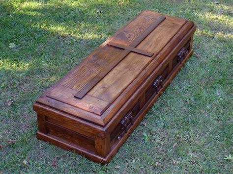 Handmade Wooden Caskets - free shipping built reclaimed wood casket