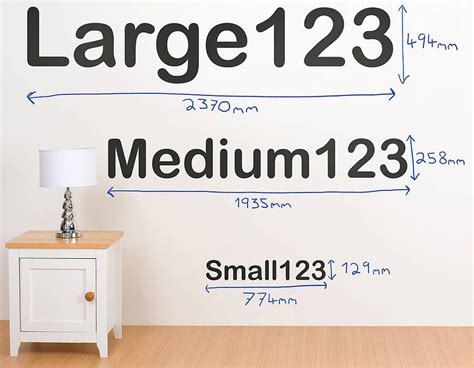 numbers wall stickers personalised letter and number wall stickers contemporary wall stickers