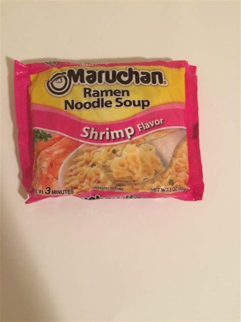 Inteenimater Apartment Flavor Pack Maruchan Ramen Noodle Soup Single Pack Shrimp Flavor Review