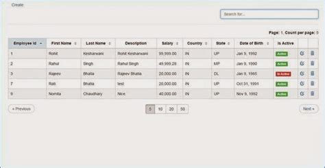 Angular Table Sort by Sorting Paging And Filter Grid Using Angularjs