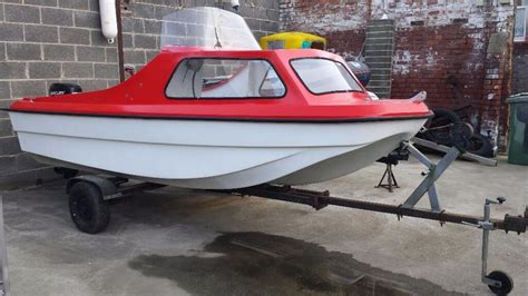 boat hull gumtree 14 4 cjr cathedral hull on trailer 20hp mercury in