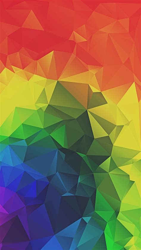 wallpaper abstract iphone 6 rainbow triangles abstract iphone 6 hd wallpaper ipod