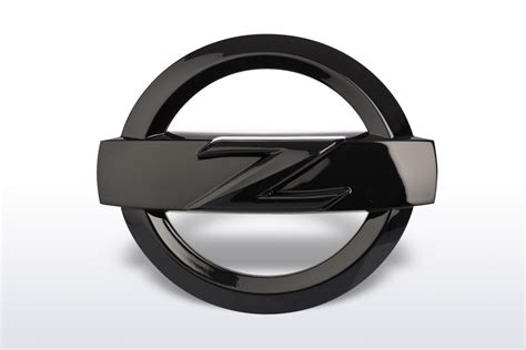 nissan black logo nissan 370z emblem schwarz ctd germany nissan