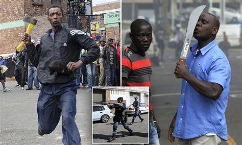 south africa immigrants create armed gangs  patrol