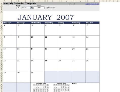 mod 232 le de calendrier mensuel excel pour mac t 233 l 233 charger