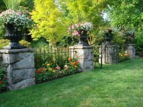 Landscaping Savannah Ga by Stone Fence Ideas Landscaping Ideas And Hardscape Design
