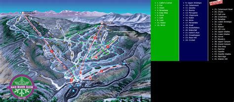 mad river glen decorating ideas images in 2016 17 mad river glen trail map new england ski map