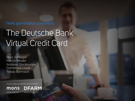designboom deutsche bank the deutsche bank virtual credit card designboom com