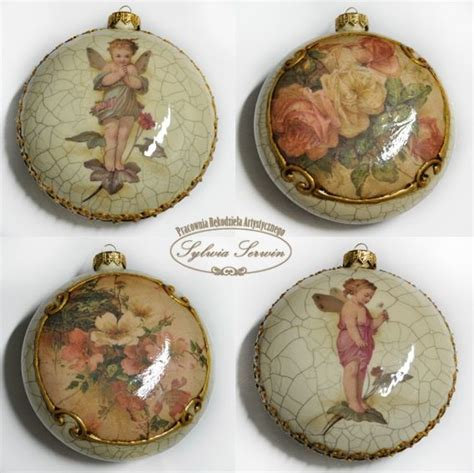 Decoupage Balls - 365 best decoupage of cutting images on